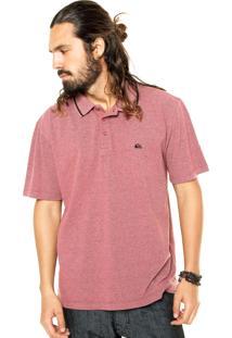 Camisa Polo Quiksilver Falkirk Vermelho