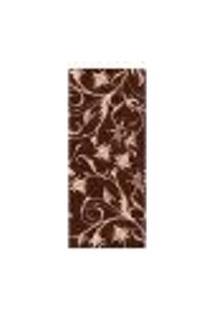 Adesivo Decorativo De Porta - Flores - 1437Cnpt
