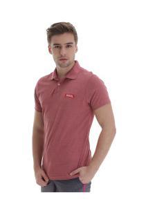 Camisa Polo Fatal Estampada 20613 - Masculina - Vermelho