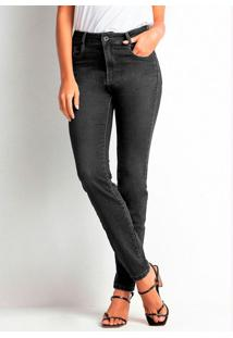 Calça Jeans Skinny Preto