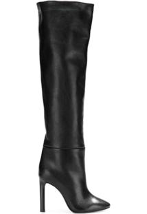 Saint Laurent Bota Over The Knee - Preto