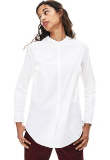 Camisa Lacoste Loose Fit Branco