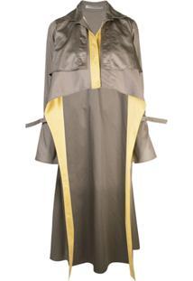 Silvia Tcherassi Trench Coat Sidney - Verde