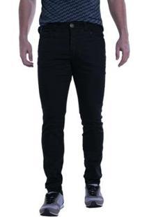 Calça Jeans Denuncia Skinny Masculina - Masculino-Preto