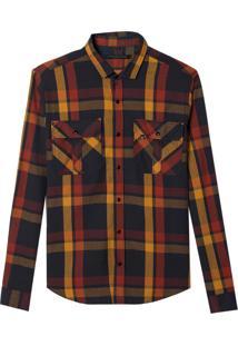 Camisa John John Alex Algodão Xadrez Masculina (Xadrez, M)