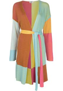 Dvf Diane Von Furstenberg Cardigan Color Block - Estampado