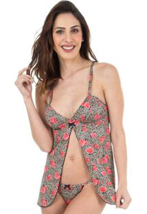 Camisola Babydoll Floral Print | 516.071