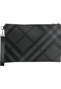 Burberry London Check Pouch - Preto