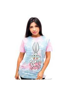 Camiseta Sideway Looney - Tie Dye