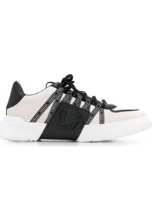 Versace Lateral Medusa Low-Top Sneakers - Branco