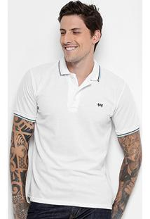 Camisa Polo Kroon Piquet Frisos Bordado Masculina - Masculino