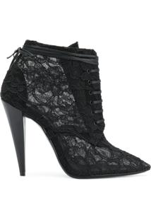 Saint Laurent Ankle Boots 'Era 110' - Preto