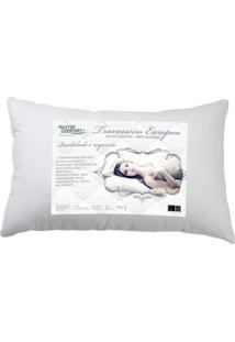 Travesseiro Bello Sonho Fibra Percal Europeu 300 Fios Altura 15 Cm