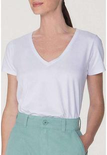 Camiseta Feminina Hering 4Ez9 Noa-Branca