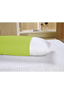 Capa Para Travesseiro Vilela Enxovais Abraçadinho Verde