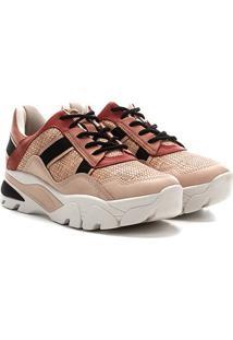 Tênis Dakota Sneaker Flatform Feminino - Feminino-Rosa Claro