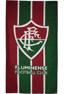Toalha De Banho Fluminense Bouton Felpuda - Unissex