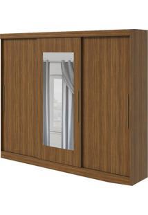 Guarda-Roupa Montebello Com Espelho - 3 Portas - Rovere Naturale