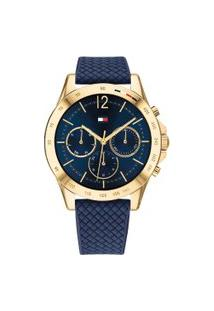 Relógio Tommy Hilfiger Feminino Borracha Azul - 1782198