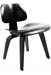 Cadeira Moderna A-027-Marka Móveis - Preto