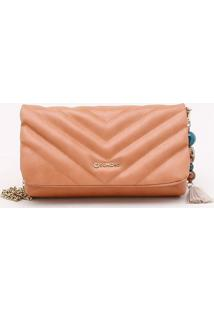Bolsa Shoulder Bag Matelassê Toffee