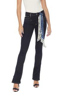 Calça Jeans Lança Perfume Bootcut Hera Azul