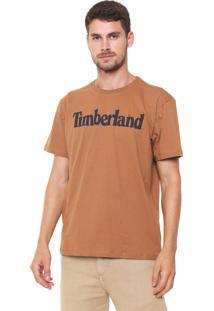 Camiseta Timberland Kennebec Rvr Line Caramelo