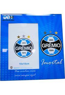 Porta Retrato Minas De Presentes 1 Foto 15X10Cm Vidro - Grêmio Azul