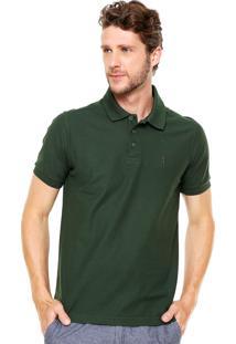 Camisa Polo Aleatory Clássica Verde