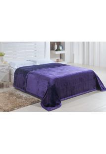 Cobertor Casal Dublin 1,80X2,20M - Niazitex Roxo