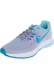 Tênis Wmns Nike Zoom Winflo 2 Cinza/Azul