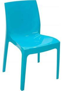 Cadeira Tramontina 92037070 Alice Summa Com Encosto Azul