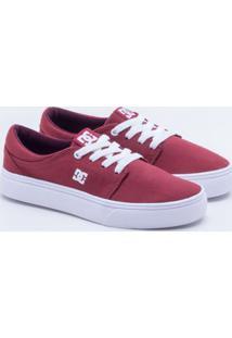 Tênis Dc Shoes Trase Tx W Vermelho Feminino 33
