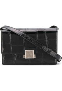 Saint Laurent Bolsa Tiracolo Bellechasse - Preto