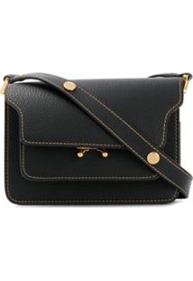 Marni Trunk Shoulder Bag - Preto