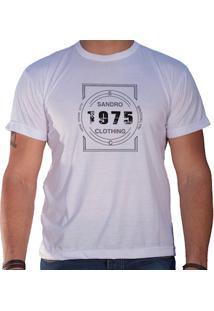 Camiseta Masculina Sandro Clothing Nova York 1975 Branca