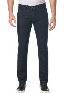 Calça Jeans Five Pockets Skinny Marinho - 44
