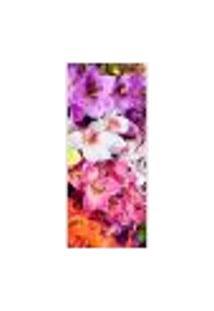 Adesivo Decorativo De Porta - Orquídea - Flores - 247Cnpt Auto Colante