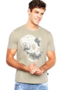 Camiseta Cavalera Textura Cinza