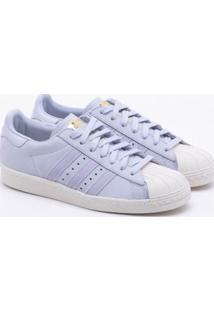 Tênis Adidas Superstar 80S Originals Azul Feminino 37
