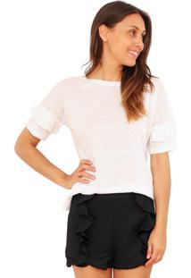 Camiseta Tea Shirt Taguá Branca
