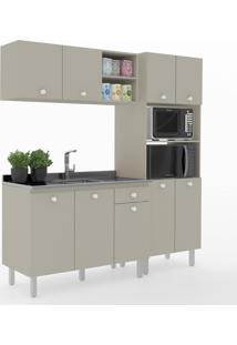 Cozinha Compacta Piazza 9 Portas 1 Gaveta 600024 Moon - Vedere