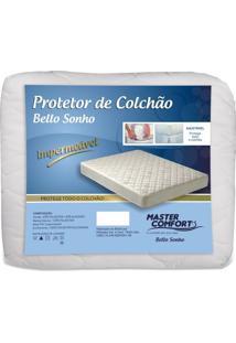 Cama Casal - Protetor Antialérgico Impermeável Para Colchão Casal - Master Comfort
