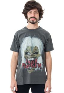 Camiseta Korova Rock Tees Iron Maiden