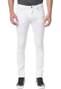 Calça Color Five Pockets Slim - Branco 2 - 42