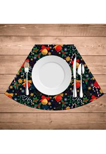 Jogo Americano Para Mesa Redonda Wevans Elementos Natalinos Coloridos Kit Com 6 Pã§S - Multicolorido - Dafiti