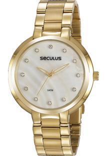 Relógio Seculus Feminino 77052Lpsvds1