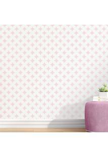 Papel Parede Infantil Rosa Geomã©Trico Cobogã³ Grã£O De Gente Rosa - Rosa - Menina - Dafiti