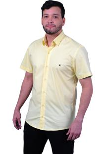 Camisa Off Wear Básica Comfort Amarela