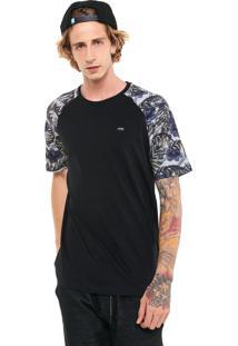 Camiseta Mcd Tropical Preta